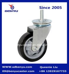 PU-zwenkwiel voor middelzwaar gebruik met PP-kern