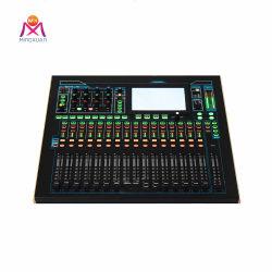 Профессиональный 24 каналов цифрового аудио консоли заслонки смешения воздушных потоков