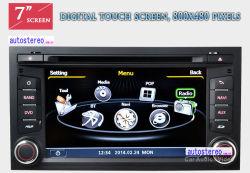 CD van de auto Speler voor GPS Naviation Navi StereoHeadunit Autoradio van Leon Altea Toledo van de Zetel