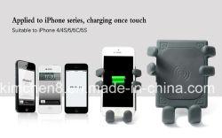 360 gradi di rotazione Car Qi Wireless Mobile Phone Charger, vari telefoni può utilizzare, AC / DC Wireless Transmitter Charger in auto