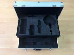 Boite à outils pliante pliable en alliage d'aluminium et en alliage d'aluminium (keli-tray-01)