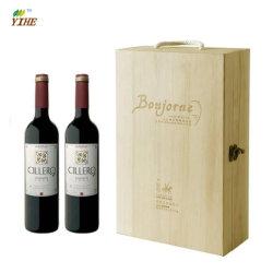 De bonne qualité Boîte de vin en bois personnalisé