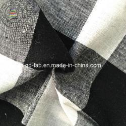 قماش الكتان/القطن المصبوغ (QF13-0760)