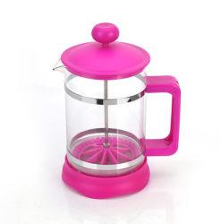 Federación de vaso de vidrio café té tetera de vidrio