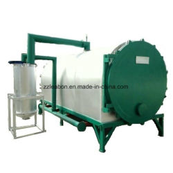 El sistema de briquetas de combustible del carbón de leña en horno de carbonización sin humo
