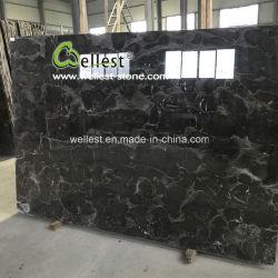 Le moins cher populaire en Chine en marbre marron foncé Emperador grande dalle