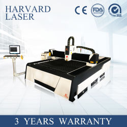 1000With3000W CNC de Scherpe Machine van de Laser van de Vezel voor Metaal
