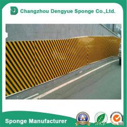 Protección de la pared Yellow-Black Volver Sticker adhesivo de espuma de estacionamiento de autos