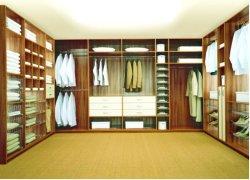 De moderne Houten Ontwerpen van de Garderobe van de Slaapkamer (W0012)