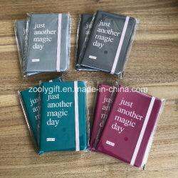 Impresos personalizados Programa de Promoción de cuero de PU estilo Moleskine Notebook