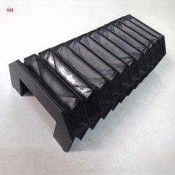 En nylon souple de la poussière d'Accordéon machine CNC ci-dessous couvre