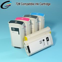 Designjet T1120, T1300, T2300 широкоформатного принтера картриджи для принтеров HP 72 плоттер картридж