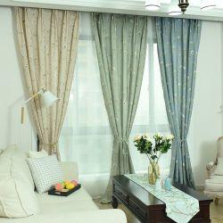 Heiße Verkaufs-Baumwollfrischer Art-Fenster-Leinenvorhang