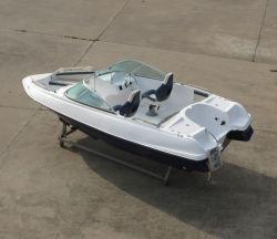China Aqualand 17feet 5.2m Speed Power Boat/Fiberglass Sports Boat (170)