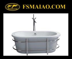 Акрил Отдельностоящие Stainless-Steel полотенце бар ванна (BA-8503)