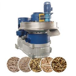 Yulong 1.5-2t/h a 132kw de capacidad de aserrín de madera biomasa Pelletizer