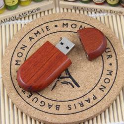 カスタム木USB駆動機構8GB 16GB 32GBの木製のフラッシュディスク