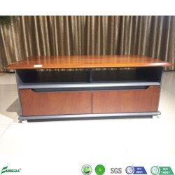 Piedi in metallo Mobili di legno per ufficio Tavolino e Tea Table