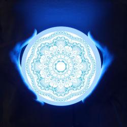 32 W série intégrée de la lampe de plafond 24+8W double panneau lumineux à LED de couleur Frameless