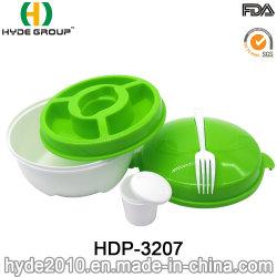 Sin BPA de Plástico Reutilizables vajilla personalizada a los niños Los niños (HDP-3207)