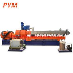 Fase de doble tornillo gemelo de PET Reciclado de plástico Máquina de hacer PLA