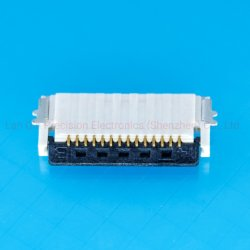 0.5mm 14pin Hoogte 1.2mm de Dubbele ZijSchakelaar FPC van het Contact voor het Digitale Product van de Telefoon van het Product Mobiele
