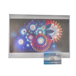 Super Nítida tomada de cartão de visita em PVC transparente Material