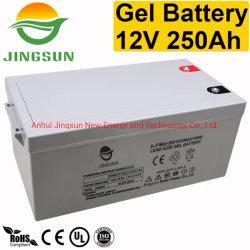 Heißer Verkauf 10 der Gel-Leitungskabel-Säure-Jahre Batterie-12V 250ah