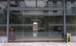 El bastidor de aluminio automático de puertas correderas telescópicas