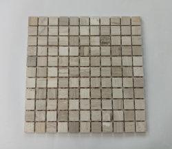 Mosaico di marmo di pietra naturale quadrato per le mattonelle della parete di Backsplash