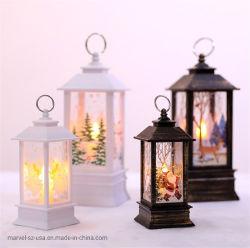 Cadeaux de Noël de l'artisanat Accueil Arbre de Noël Décoration Candle Light LED