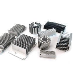 가로등/동위 빛/플러드 빛을%s 주문 알루미늄 또는 알루미늄 합금 방열기 LED 밀어남 열 싱크