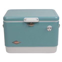 픽크닉을%s 50L 아이스 박스 금속 거품 냉각기 상자 얼음 양동이