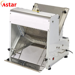 Eléctrica comercial Cortadora de pan tostado para cortar-9.5PCS-39mm