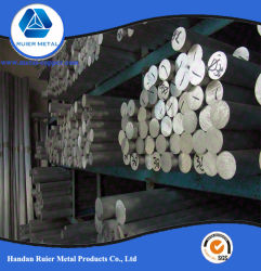6061 6063 T3-T6 en alliage aluminium tige extrudé