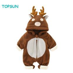 Kostüm-Ausstattungs-Winter Hoodie Snowsuit des Baby-Mädchen-Spielanzug-Säuglingsoverall-Unisex3d TierCosplay