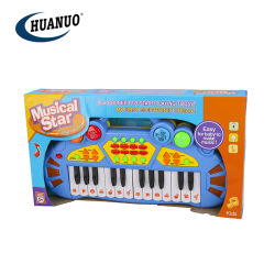 Музыкальные инструменты в области образования для детей игрушки электрический орган пианино 24 клавиатуры