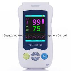 Resultado preciso de mão oxímetro de pulso Mslxy24 Portable oxímetro de pulso com visor LCD