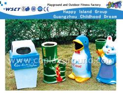 Papelera de plástico de estacionamiento con la norma EN840 Certificado (M11-14214)