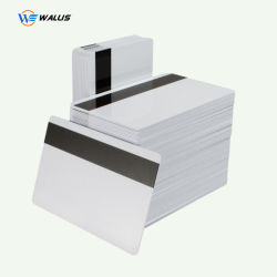 PC de PET en PVC Hico Loco des cartes à bande magnétique