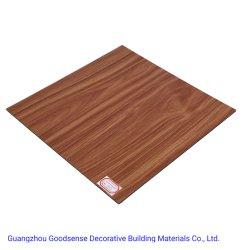Scheda del Governo di stanza da bagno dello strato della gomma piuma di legno solido del PVC del materiale da costruzione