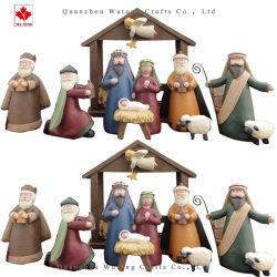 Рождество Христово Рождество, смола мультфильм Manger статуэтки украшения