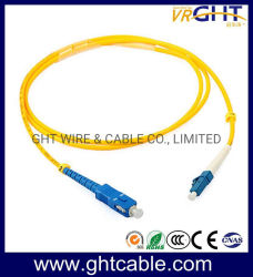 Fibra óptica patch cord SC-LC de fibra óptica