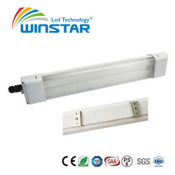 Da tampa opaca 4FT 130lm 36W65 LED Alojamento Triproof IP luminária de luz Linear