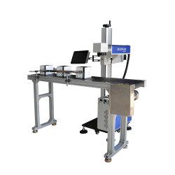50W Raycus Date de laser à fibre graveur Laser de Marquage de codage de la machine pour les outils de métal gravure