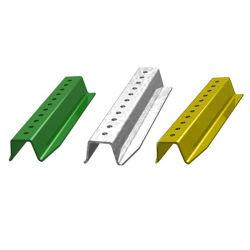 """Segnale stradale della scanalatura a """"u"""" rivestita d'acciaio perforata di potere con resistenza superiore a vento"""
