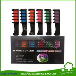 De nieuwe Professionele Kleurpotloden van de Kam van de Kleurstof van het Haar van het Gebruik van de Salon van de Lijst 6PCS/Set Mini Beschikbare Persoonlijke