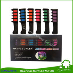 Nuevo listado 6pcs/desechables Mini juego de Salón de belleza Personal usar tinte de cabello Peine Professional lápices de colores