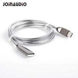 Tipo C USB a USB 2.0 Sincronización de datos y carga de la serpiente con carcasa de acero (9.5409)