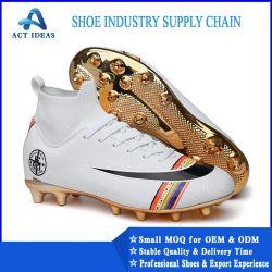 2019 Nueva marca de fútbol de la calidad de los zapatos, zapatos de fútbol profesional, Top Venta hombres botas de fútbol